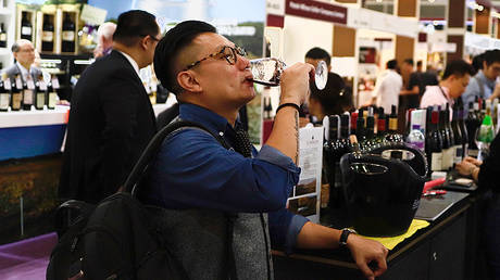 Hong Kong International Wine & Spirits Fair © Global Look Press/Liau Chung-ren/ZUMAPRESS.com