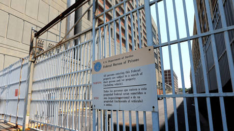 FILE PHOTO: The Metropolitan Detention Center (MDC) where Ghislaine Maxwell has been held, is pictured in Brooklyn, New York, on July 6, 2020.