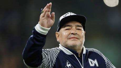 Diego Maradona. © Reuters / AGUSTIN MARCARIAN