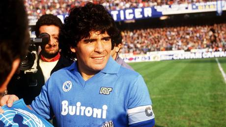 Diego Maradona during his time at Napoli - Reuters / Action Images