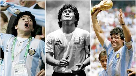 Diego Maradona had flair and flaws in equal measure - John Sibley / Reuters (left); Reuters (center);  Getty (right)