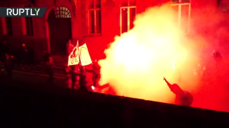 Rally against French bill outlawing sharing images of police dispersed with tear gas in Nantes (VIDEOS) - rt