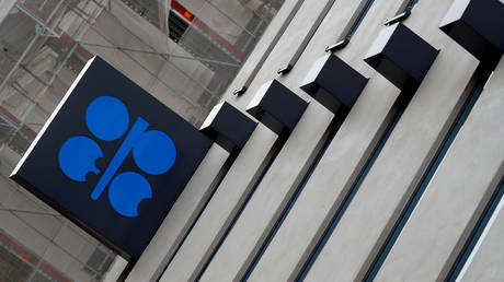 FILE PHOTO: The logo of the Organization of the Petroleum Exporting Countries (OPEC) © Reuters / Leonhard Foeger