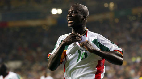 Former Premier League and Senegal World Cup star Papa Bouba Diop has died © Action Images / Tony O'Brien Digital via Reuters