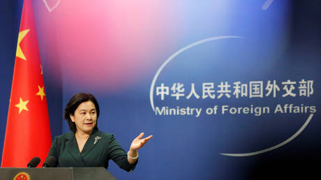 Chinese Foreign Ministry spokeswoman Hua Chunying attends a news conference in Beijing, China (FILE PHOTO) © REUTERS/Thomas Suen