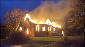 Canadian police probe 'suspicious' fires that destroyed two churches located just 10 minutes apart