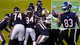 'Why punch a helmet?' NFL fans react as Chicago Bears' Javon Wims EJECTED after on-field brawl (VIDEO)