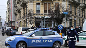 Bank robbers escape through Milan SEWERS after brief hostage situation