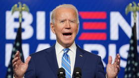 Joe Biden says it's 'clear' he's 'winning enough states' to become president, urges Americans to unite