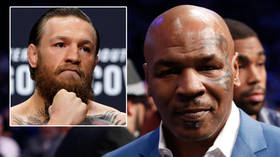 'He's watched too many Vikings': Fans question boxing icon Tyson's 'gods of WAR' comeback claim - but UFC star McGregor BACKS him