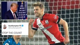Southampton troll Trump as Saints go top of Premier League for FIRST TIME EVER