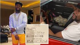 The Money Man: Floyd Mayweather flaunts HUGE betting win after big-money NFL wager