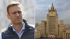 Moscow claims Navalny poisoning clearly an 'amateurishly staged stunt' after EU governments ignore requests for evidence