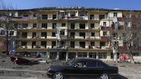 Azerbaijan says it has seized key Nagorno-Karabakh town of Shusha, but Armenia denies Baku's claim & insists fighting continues