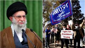'Ugly face of liberal democracy': Iran's Khamenei jeers at highly contentious US presidential election