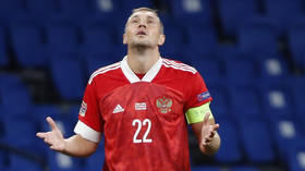 Russia captain Artem Dzyuba DROPPED from squad after X-rated video leaked online