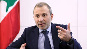 Lebanon's Bassil says his refusal to break ties with Hezbollah led to 'unjust & politicized' US sanctions