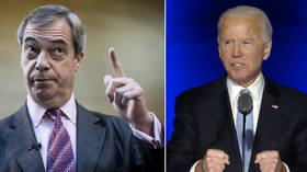 'Biden hates the UK': Farage says Tory government wasted chance to do trade deal with US