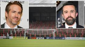 It's always sunny in... Wrexham? Hollywood stars Rob McElhenney, Ryan Reynolds in bid to BUY football team in English fifth tier