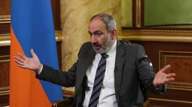 War over? Armenia's Pashinyan says signed declaration with Russia's Putin & Azerbaijan's Aliyev to END Nagorno-Karabakh conflict