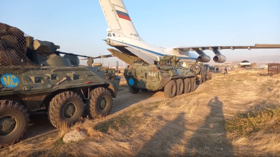 WATCH 20 Russian military cargo planes land in Armenia as first 400 peacekeepers assemble for deployment to Nagorno-Karabakh