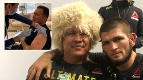 Using the jab: Khabib's coach filmed taking 'COVID-19 VACCINE' injection from nurse at UFC Fight Island home of Abu Dhabi (VIDEO)