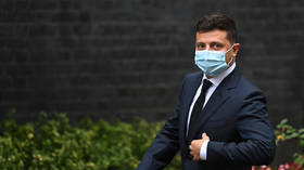 Ukrainian President Zelensky moved to hospital after contracting coronavirus, makes conference calls from ward – official reveals