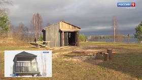 Russian company building replica concentration camp for kids near Finnish border; plans for 'patriotic weekend' school trips