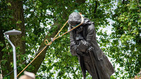 Bristol statue destruction is 'CULTURAL EVENT OF THE YEAR'? We are in big trouble, Twitter critics say