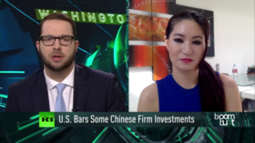 US bars investments in some Chinese firms