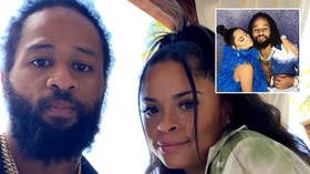 Wife who 'held NFL star at gunpoint after catching him with another woman' files for divorce within weeks of soppy Instagram posts