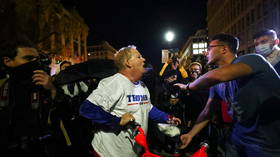Trump slams 'Antifa SCUM' for waiting until nightfall to attack remaining 'innocent MAGA people' when 99% had left DC march