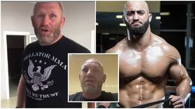 'He broke my orbital bone with a knuckleduster': Russian MMA veteran Kharitonov shows injuries from attack by UFC fighter Yandiev