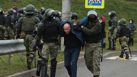 Protests again shake Belarus on Sunday as security forces launch sweeping crackdown, using flash grenades & tear gas (VIDEOS)