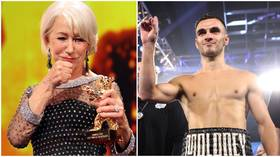'That moves you ahead of Meryl Streep in my estimation': Boxing fans salute Helen Mirren after she weighs in on controversial bout