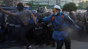 41 injured in Bangkok protests as Thai police deploy water cannons and tear gas (VIDEOS)