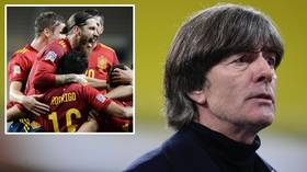 'An all time Loew': German fans turn on coach Joachim Loew after 6-0 HUMILIATION by Spain