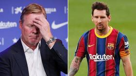 End of an era? With Lionel Messi's continued issues on and off the pitch, could Ronald Koeman hasten 'Leo's' Barcelona exit?