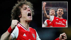 'Send a selfie': Premier League ace Ceballos MOCKED as he denies being FLOORED by teammate in bloody training ground spat