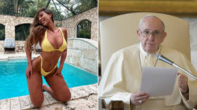 Vatican launches probe into how Pope's Instagram account 'liked' picture of scantily-clad Brazilian model