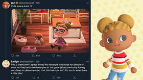 'Don't wear them if you're white': Animal Crossing gamers accused of CULTURAL APPROPRIATION over virtual afro puff hairstyles