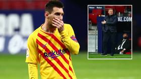'Worst Barcelona in 25 years': Defeat at Atletico piles pressure on Koeman – at this rate Dutchman is unlikely to see out season