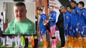'I'll buy you a pint': Football club and film star react to hugely popular Premier League fan with down syndrome's message (VIDEO)
