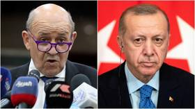 'Soothing statements' by Erdogan won't be enough for Turkey to avoid EU sanctions, French FM warns