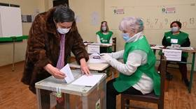 Ruling party claims facile victory in Georgian parliamentary elections as uncontested vote marred by allegations of voter fraud