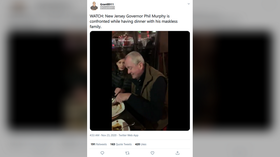 'You're such a D**K': New Jersey Governor Murphy confronted by protesters as he dines with family at restaurant (VIDEO)