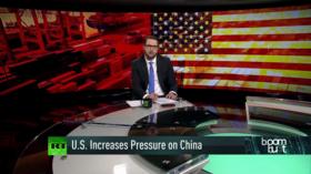 US increases pressure on China