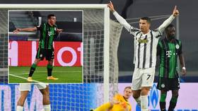 Cristiano Ronaldo equals Messi Champions League record with stunning strike after Albanian rival TROLLS HIM with own celebration