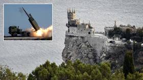 American missiles capable of striking Crimea fired into Black Sea as risk of confrontation on Russia's borders continues to grow