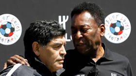 'We'll kick a ball together in the sky': Brazilian football legend Pele mourns death of Argentinian great Diego Maradona